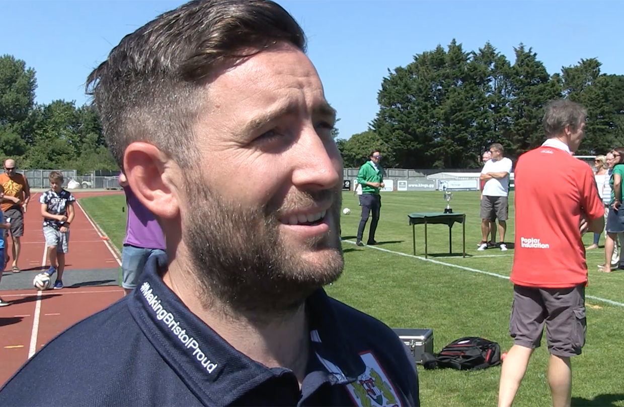 Video: Lee Johnson Post-Guernsey away thumbnail