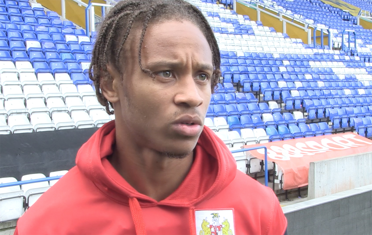 Video: Bobby Reid Post-Birmingham City away thumbnail