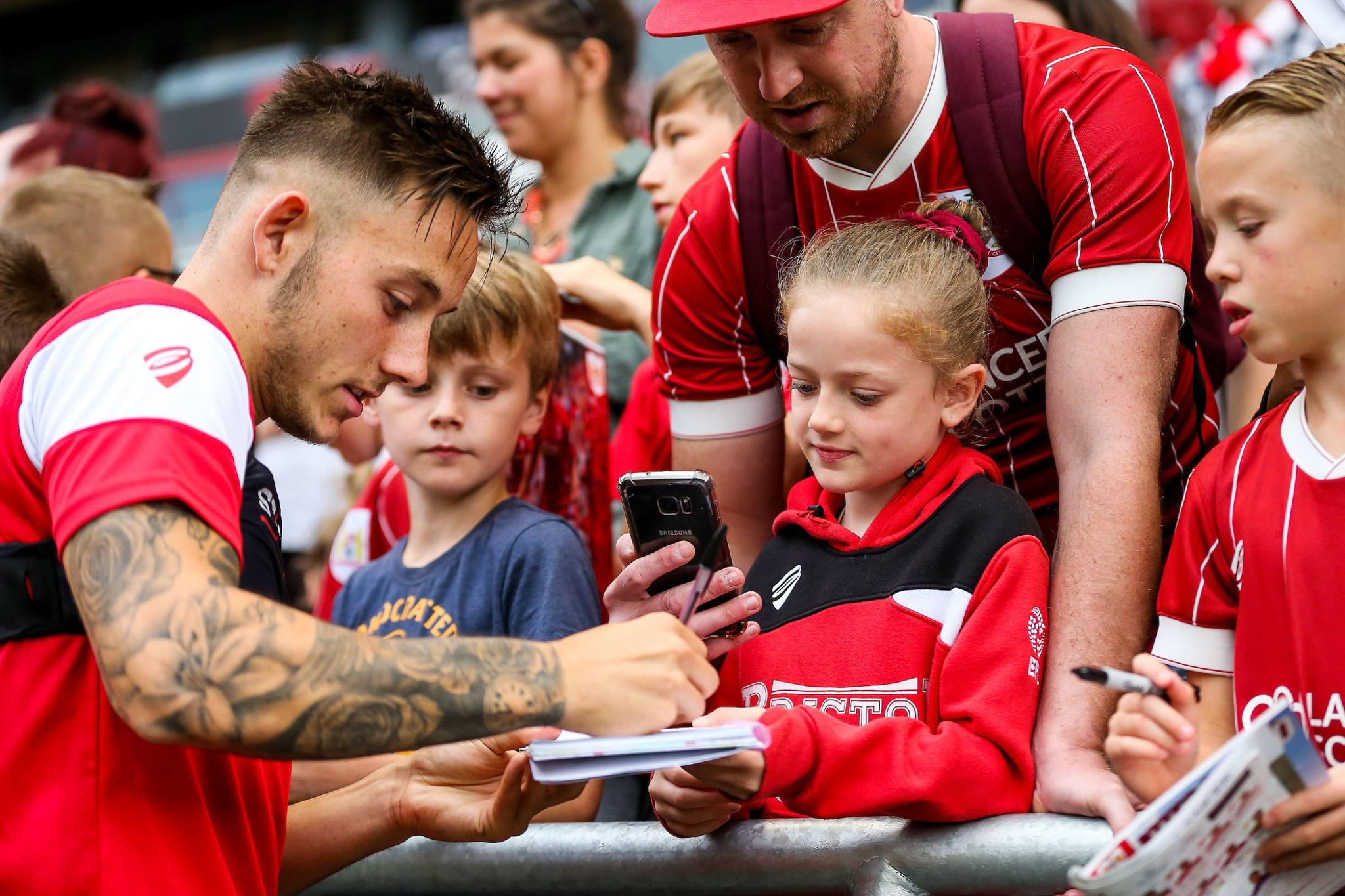 Video: Bristol City's Open Training Session thumbnail