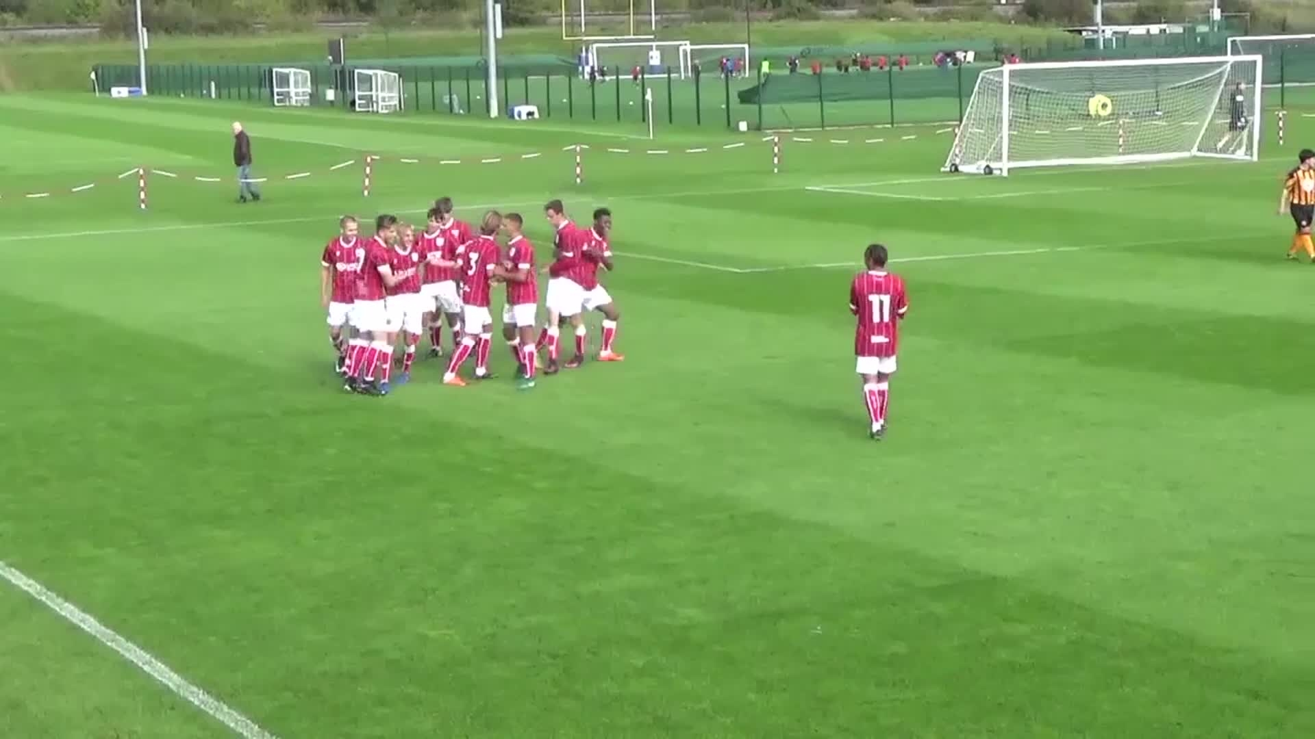 Goals: Bristol City Under-18s 7-2 Hull City Under-18s thumbnail