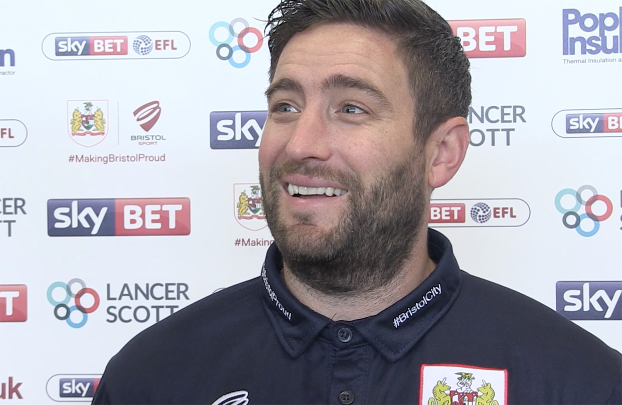 Video: Lee Johnson Pre-Ipswich Town away thumbnail