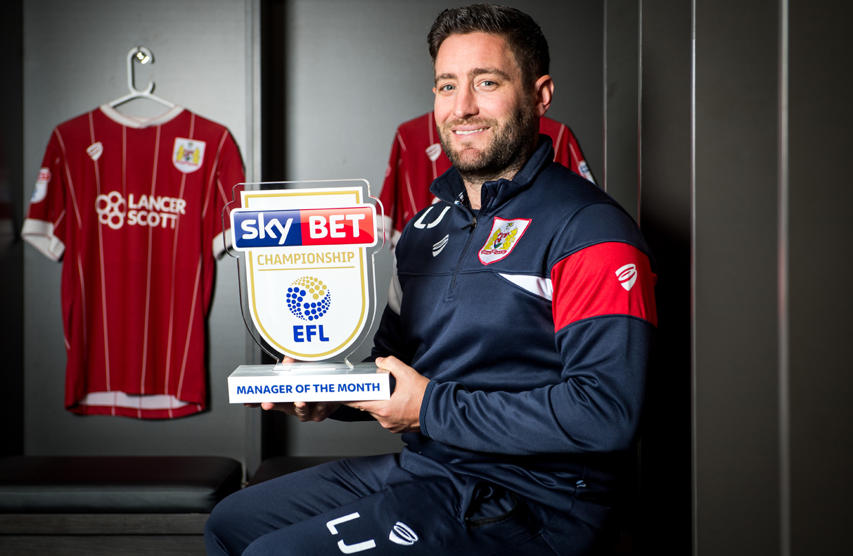 Video: Lee Johnson - September's Manager of the Month thumbnail