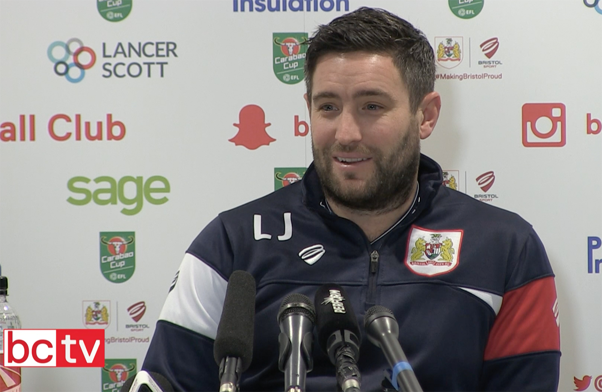 Video: Lee Johnson Pre-Manchester United press conference thumbnail