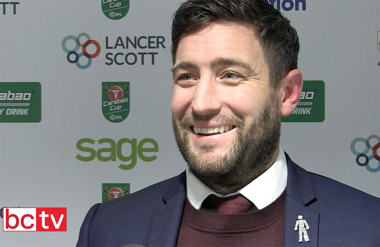 Video: Lee Johnson Post-Manchester United home thumbnail