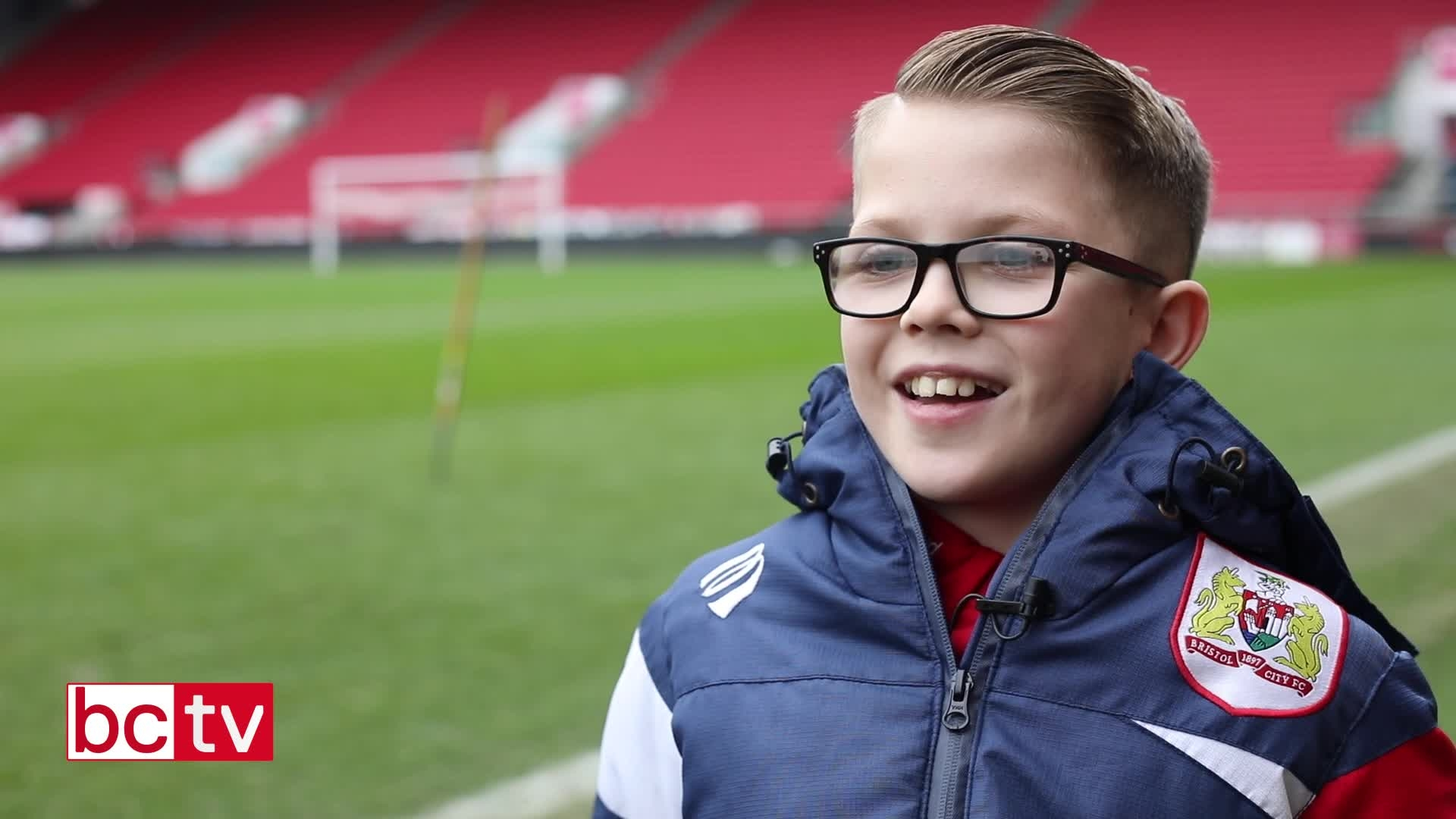 Video: Ballboy Jaden Neale post-Manchester United home thumbnail