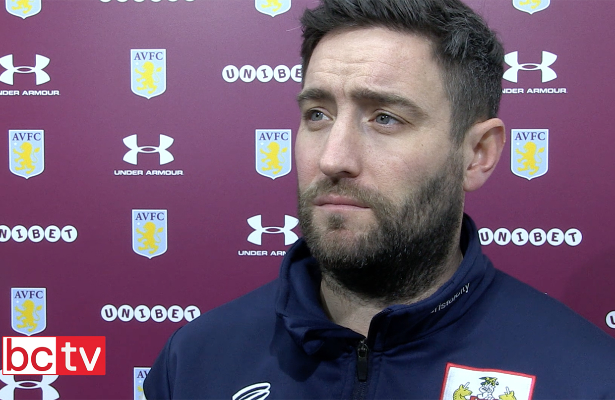 Video: Lee Johnson Post-Aston Villa away thumbnail