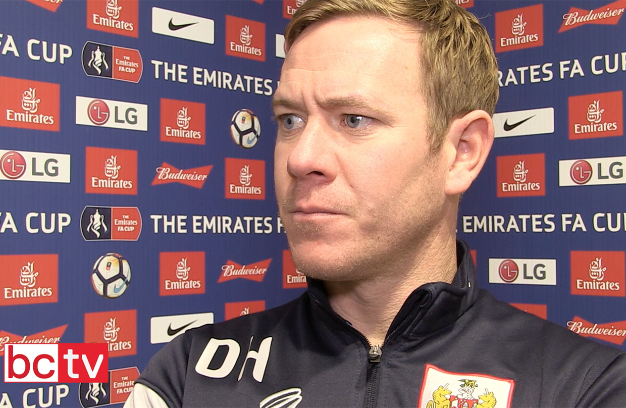 Video: Dean Holden Post-Watford away (Emirates FA Cup) thumbnail