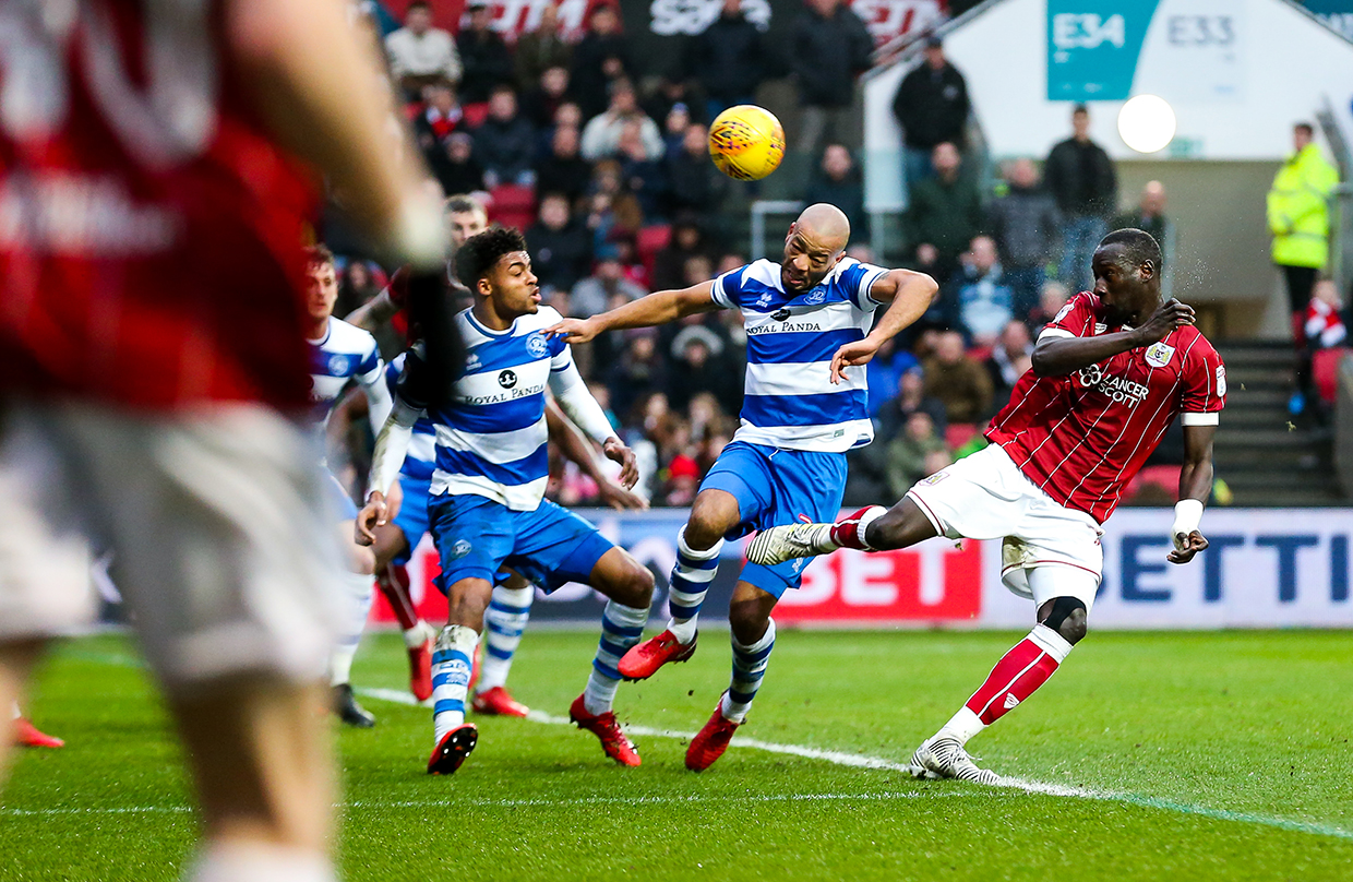 Goals: Bristol City 2-0 QPR thumbnail