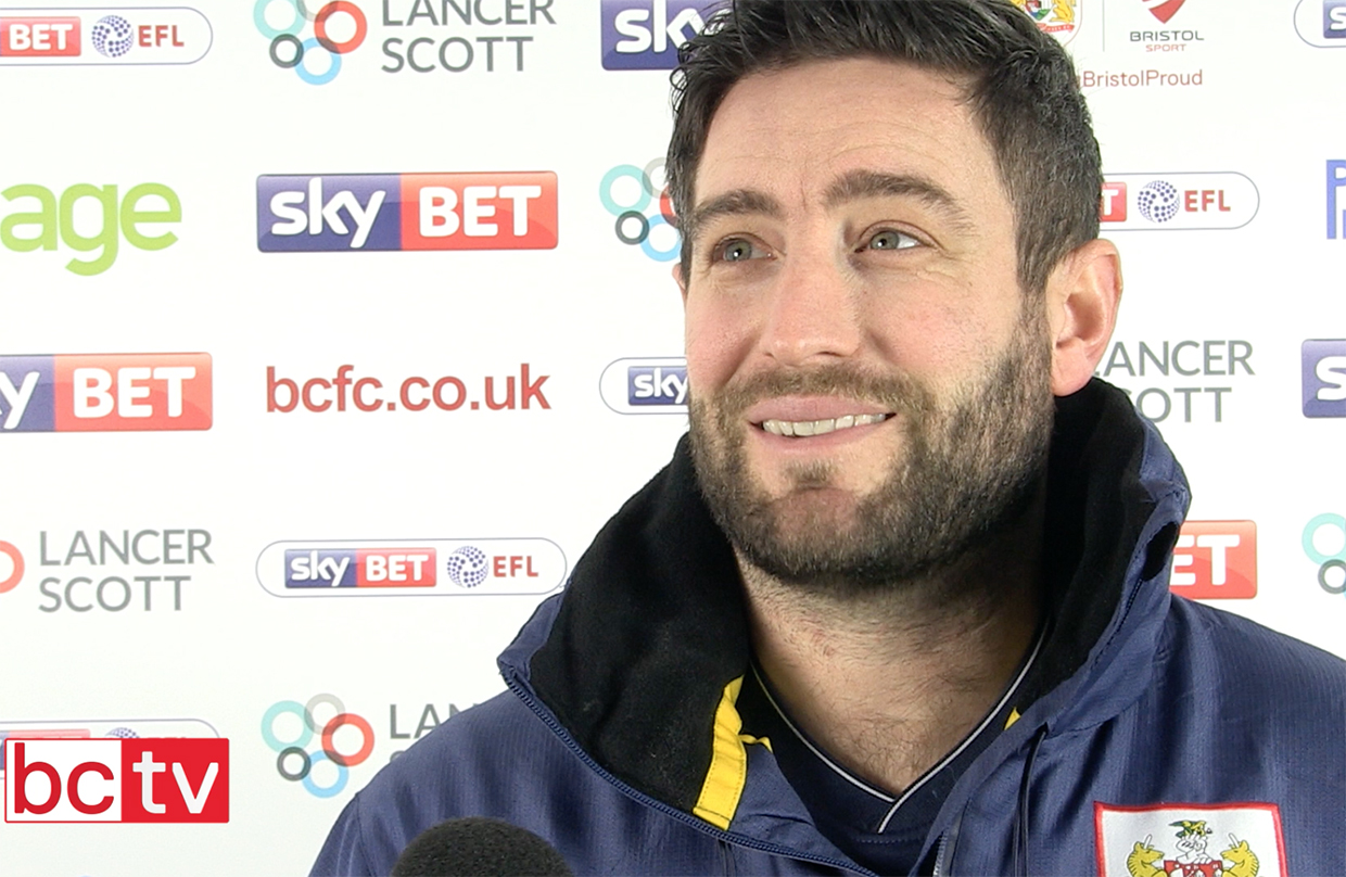 Video: Lee Johnson Pre-Bolton Wanderers away thumbnail