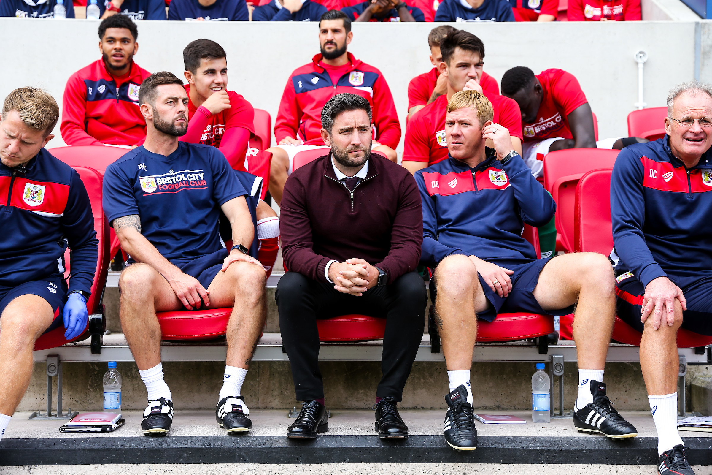 Video: Lee Johnson Pre-Wigan Athletic away thumbnail